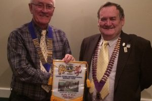 District Governor visits Melksham Lions