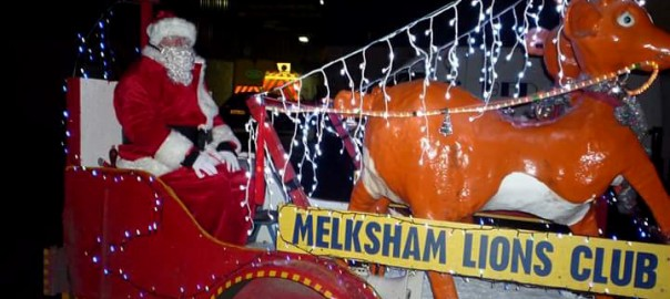 Melksham Lions Club Christmas FLoat