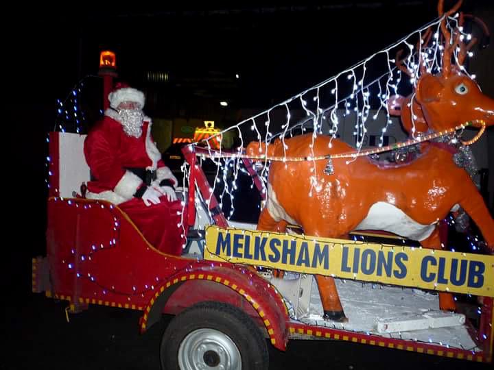 Melksham Lions Club Christmas FLoat