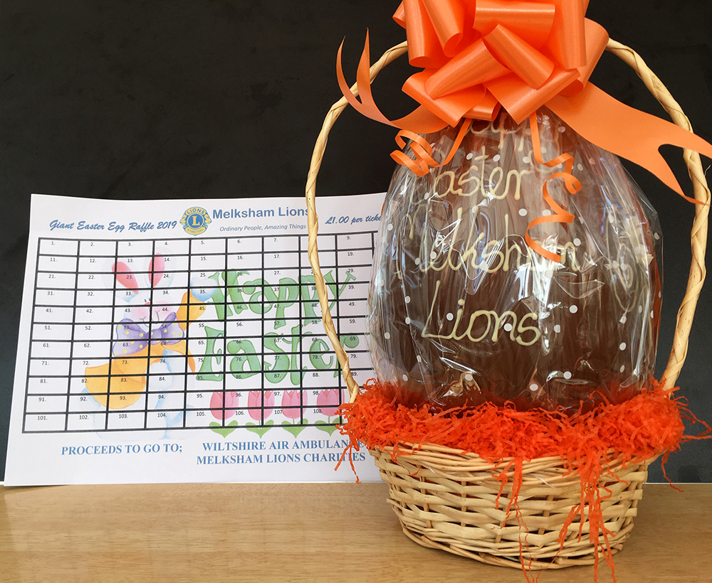 Easter Egg Raffles